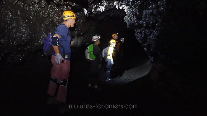 Tunnel de lave ile Réunion